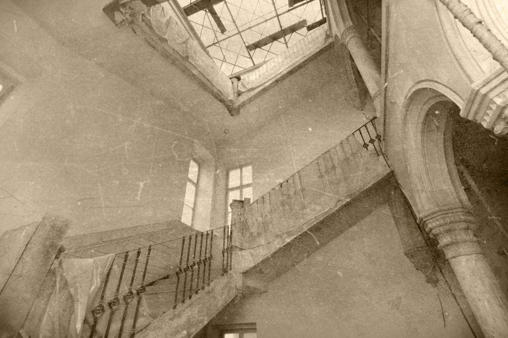 historicke foto lannuv palac