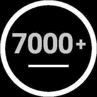 7000 produktu