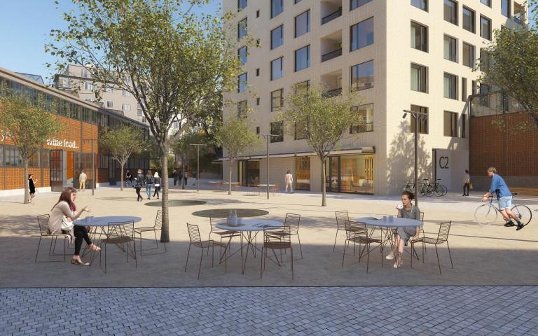 Pergamenka - náměstí