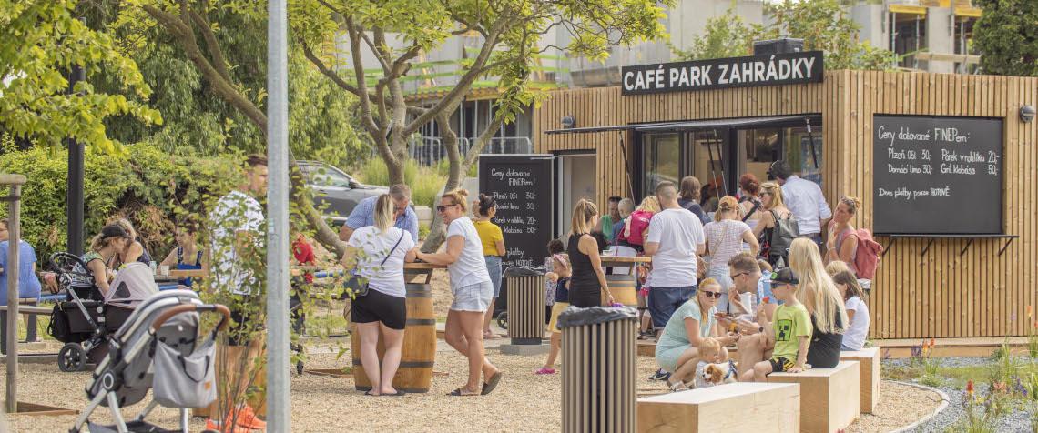 Slavnostní otevření Café Park Zahrádky ve Vysočanech