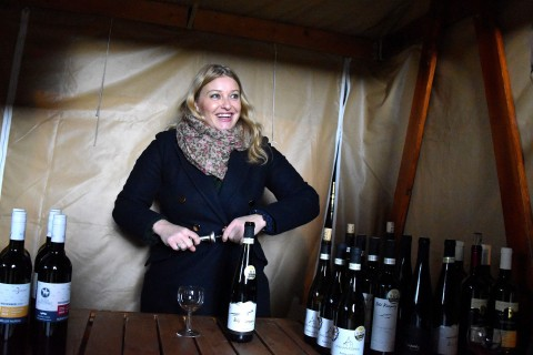 The celebration of St. Martin's wines