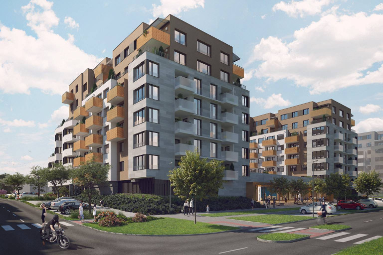 We have extended our offer of residential apartments in the Malý háj location