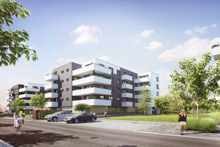The HIT of the last year's season again in our offer - further new cooperative apartments in Malý háj.