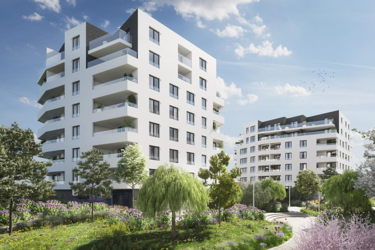 The eleventh phase with the new cooperative apartments in the Britská čtvrť goes on sale