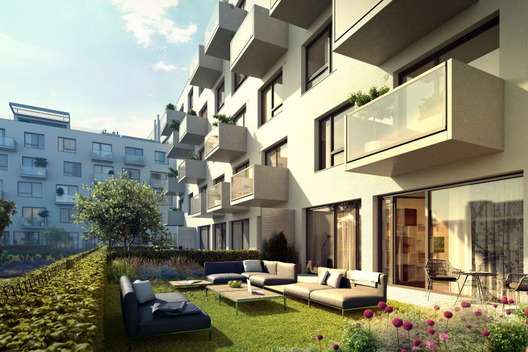 We have a new residential area in Prague 9