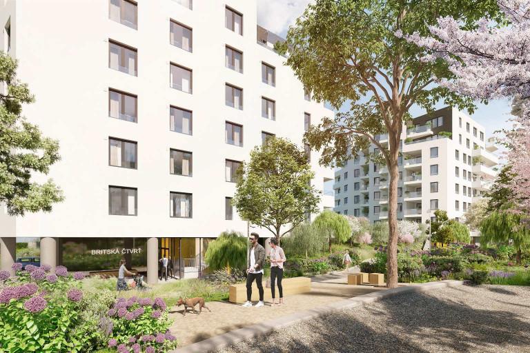 New private apartments in the Britská čtvrť for sale now!