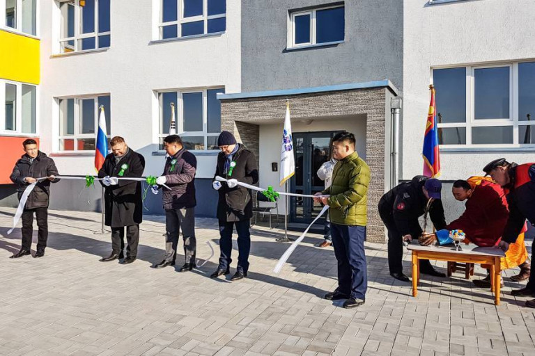 300 new apartments in Mongolian Erdenet