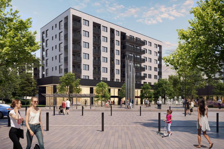 Nové byty v osobním vlastnictví v další etapě projektu Kaskády Barrandov