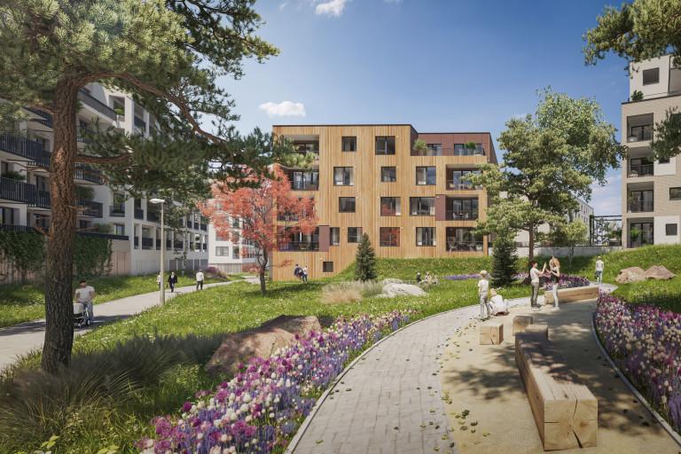 Sto nových bytů v osobním vlastnictví na Praze 6
