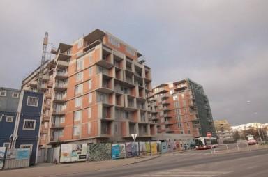 Stavba, listopad 2017