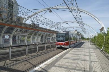 tramvajová zastávka