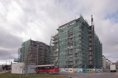 Stavba, leden 2018