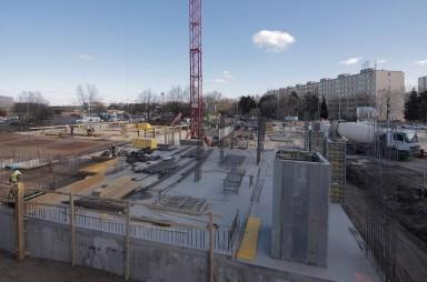 Stavba, březen 2018