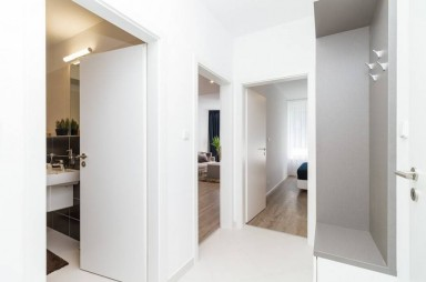 Model apartment 2+kitchenette Britská čtvrť