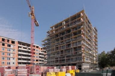Stavba, září 2018