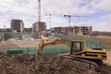 Stavba, březen 2019