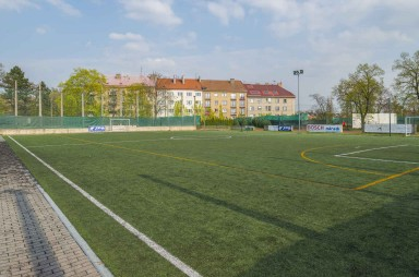 Football ground