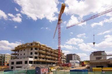 Stavba, červenec 2019