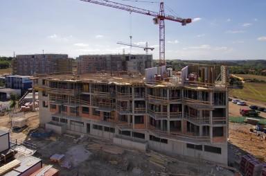 Stavba, září 2019