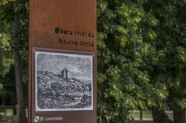 Obora Hvězda - educational trail