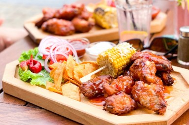 Stodůlky: Restaurace Kolkovna - kuřecí křídla