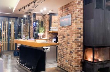 Holešovice: Restaurace Salut - interiér