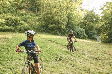 cycling in the Šárka valley