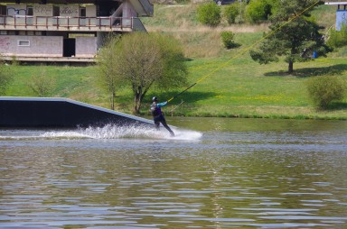 wakeboarding - nature area Džbán