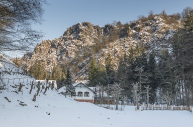 Šárka valley in winter