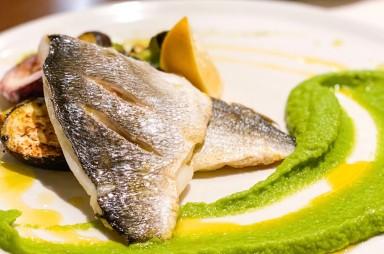 Hloubětín: Restaurace Violete-filet z pražmy
