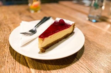 Holešovice: Bistro Twenty7 - cheesecake