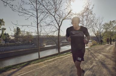 běh podél Vltavy