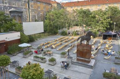 Kasárna Karlín - letní kino