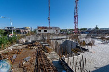 Construction, August 2020
