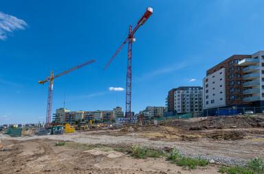 Stavba, srpen 2020