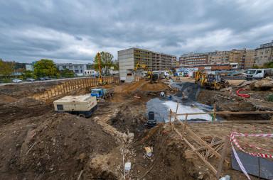 Stavba, říjen 2020