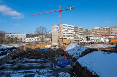 Stavba, leden 2021