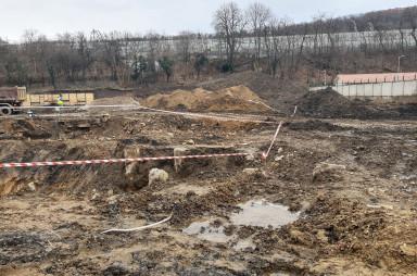 Stavba, únor 2021