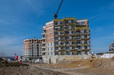 Stavba, březen 2021