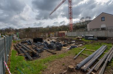 Stavba, duben 2021