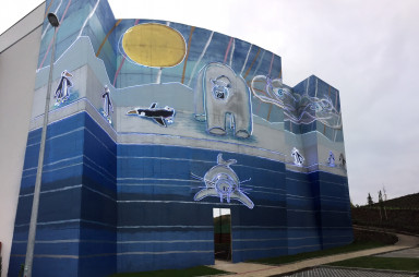 Malba Marka Číhala na Proseku