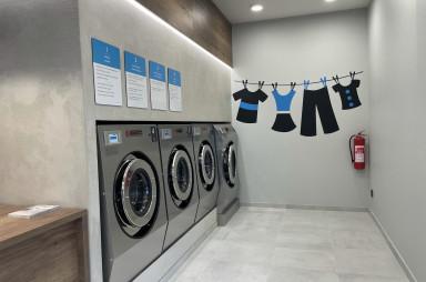 Prádelna Lavor v Britské čtvrti