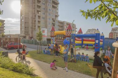 První sousedské setkání na Barrandově - červen 2021