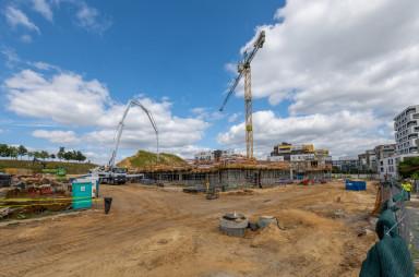 Stavba, srpen 2021
