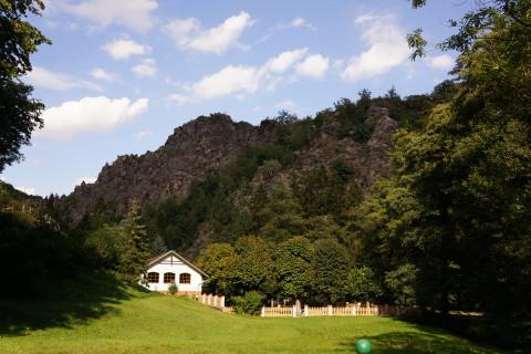 Horolezectví: park Divoká Šárka
